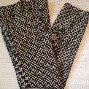 Loft Pattern Dress Pants